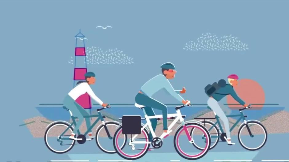 Eurovelo 3: Wer gerne Fahrrad fährt, muss diesen neuen Weg unbedingt kennen