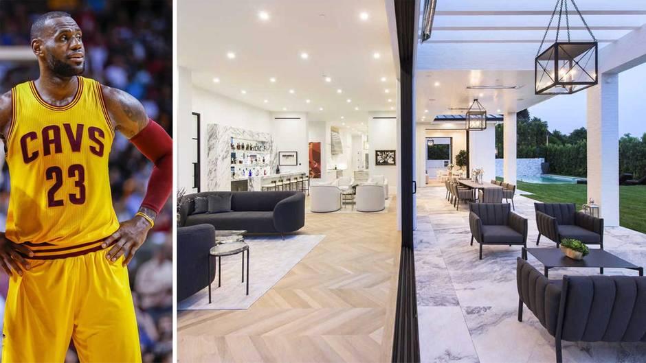 Anwesen bei Los Angeles: So sieht die 23-Millionen-Dollar-Villa von LeBron James aus