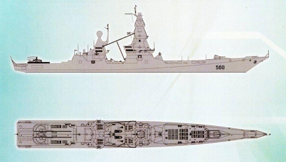 Lider-Klasse: Mit 2400 Raketen sollen Putins Kreuzer die Weltmeere blockieren