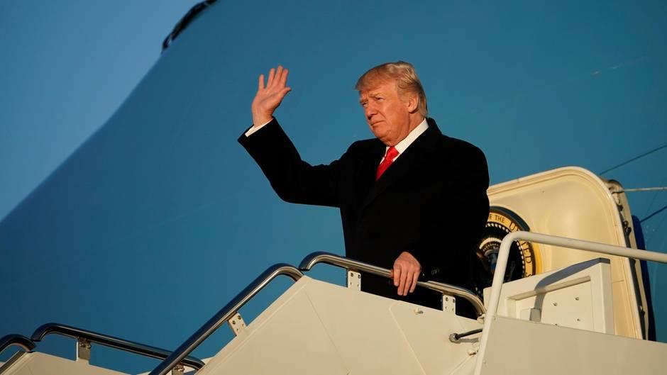 US-Präsident: Ein Jahr Trump in Zahlen: Wie oft er Golf spielte - und wie häufig er sein Lieblingswort twitterte