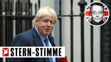 Boris Johnson (Archivbild) hat die Idee, eine brücke zwischen England und Frankreich zu bauen