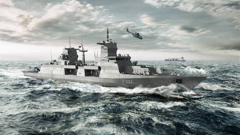 Die neue Fregatte der Bundeswehr, die F-125, sollte durch hohe Manövrierbarkeit und lange Einsatzdauer überzeugen, fiel aber in der Erprobung durch. Nun wird nachgebessert.  Lesen Sie:  Fregatte F125 - Unsere neue Super-Fregatte - noch nicht im Dienst und schon veraltet