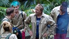 Willkommen im Dschungel:Sandra Steffl, David Friedrich, Daniele Negroni, Ansgar Brinkmann und Sydney Youngblood sind angekommen.
