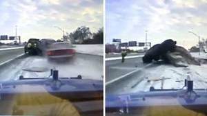 Autounfall bei Detroit