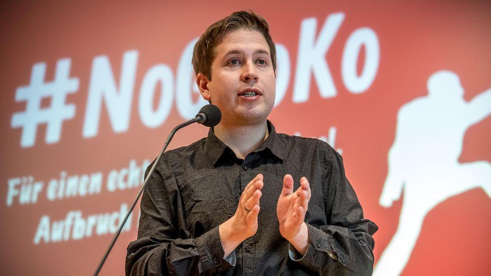 Jusos Kevin Kühnert