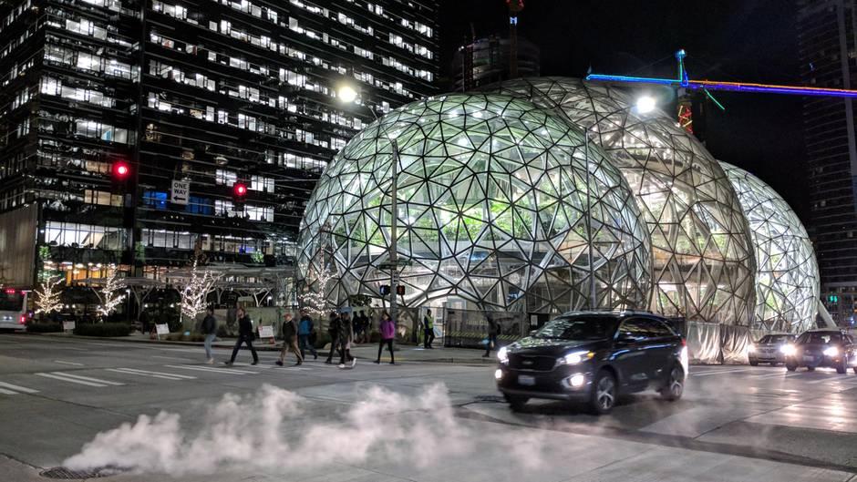 Wo errichtet Amazon das neue Hauptquartier?