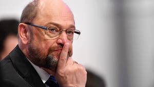 Martin Schulz beim SPD-Parteitag