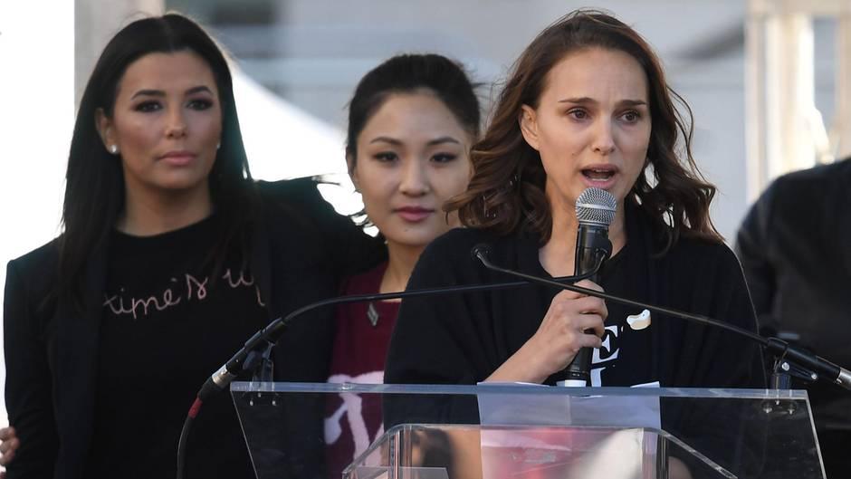 """""""Women's March"""": Natalie Portman berichtet von """"sexuellem Terror"""" - Fan schickte ihr Vergewaltigungsfantasien"""