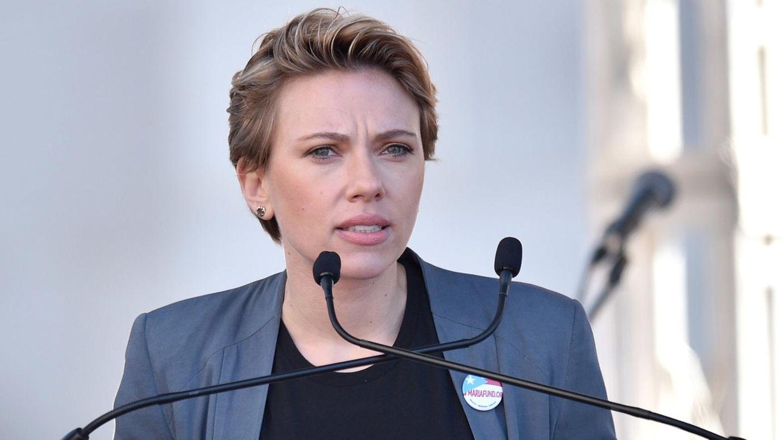 """Scarlett Johansson beim """"Women's March"""""""