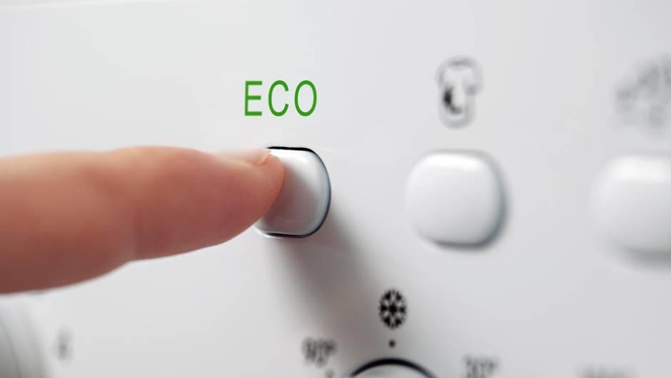 Eco-Modus: Die Waschmaschine ignoriert die Temperaturauswahl - und das ist auch gut so