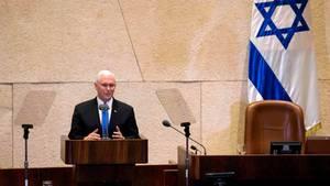 Nach Donald Trumps Vorstoß: Botschaft wird laut Pence vor Ende 2019 nach Jerusalem verlegt