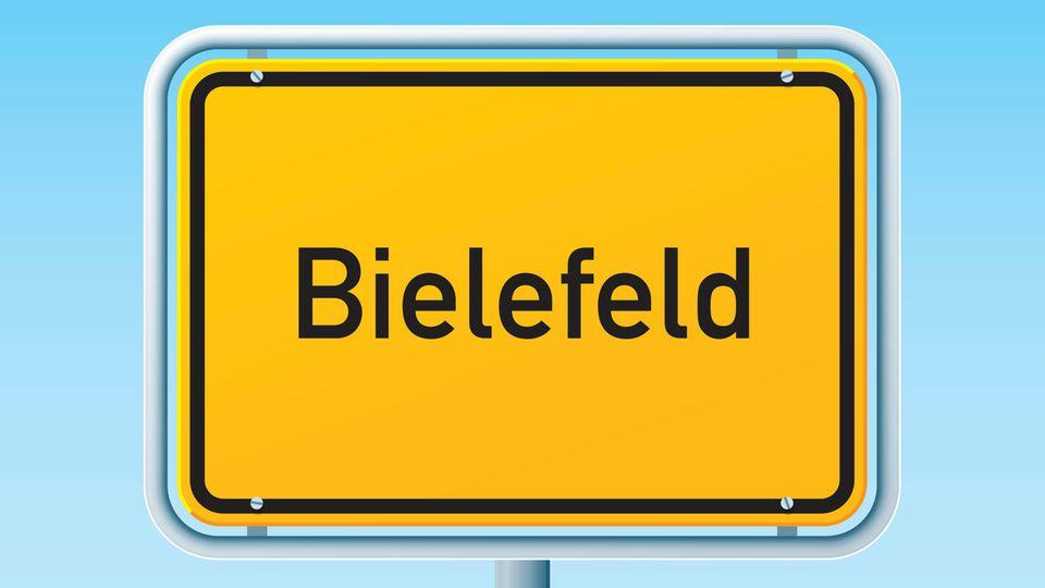 Bielefeld Straßenschild