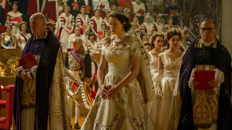 Claire Foy als Queen Elizabeth II in The Crown