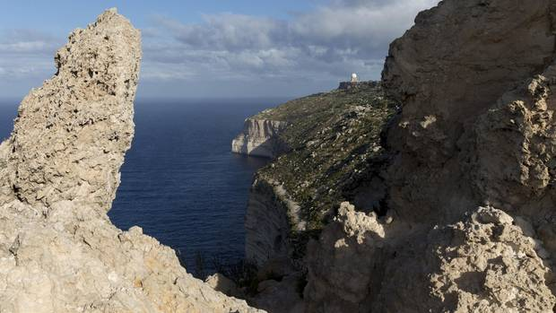 Malta Dingli Klippen