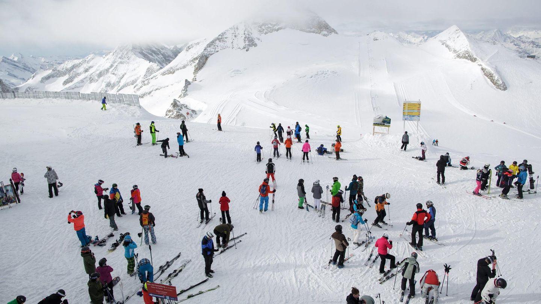 3250 Metern Höhe über dem Zillertal: Auf dem Hintertuxer Gletscher