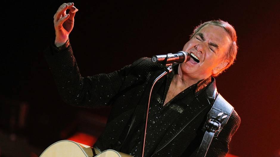 Neil Diamond - Parkinson - Tournee-Absage