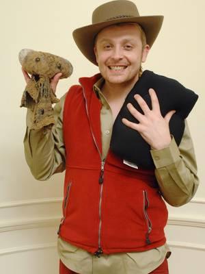Ross Antony, Sänger und Dschungelkönig 2008, überraschte RTL-Zuschauer zu Hause.