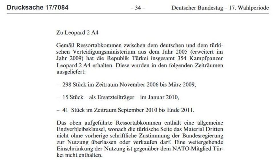 Export in die Türkei: Kanzler Schröder verhökerte deutsche Leopard-Panzer - ohne alle Auflagen