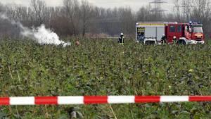 Kollision zwischen Kleinflugzeug und Rettungshubschrauber nahe Philippsburg: Vier Menschen sterben.