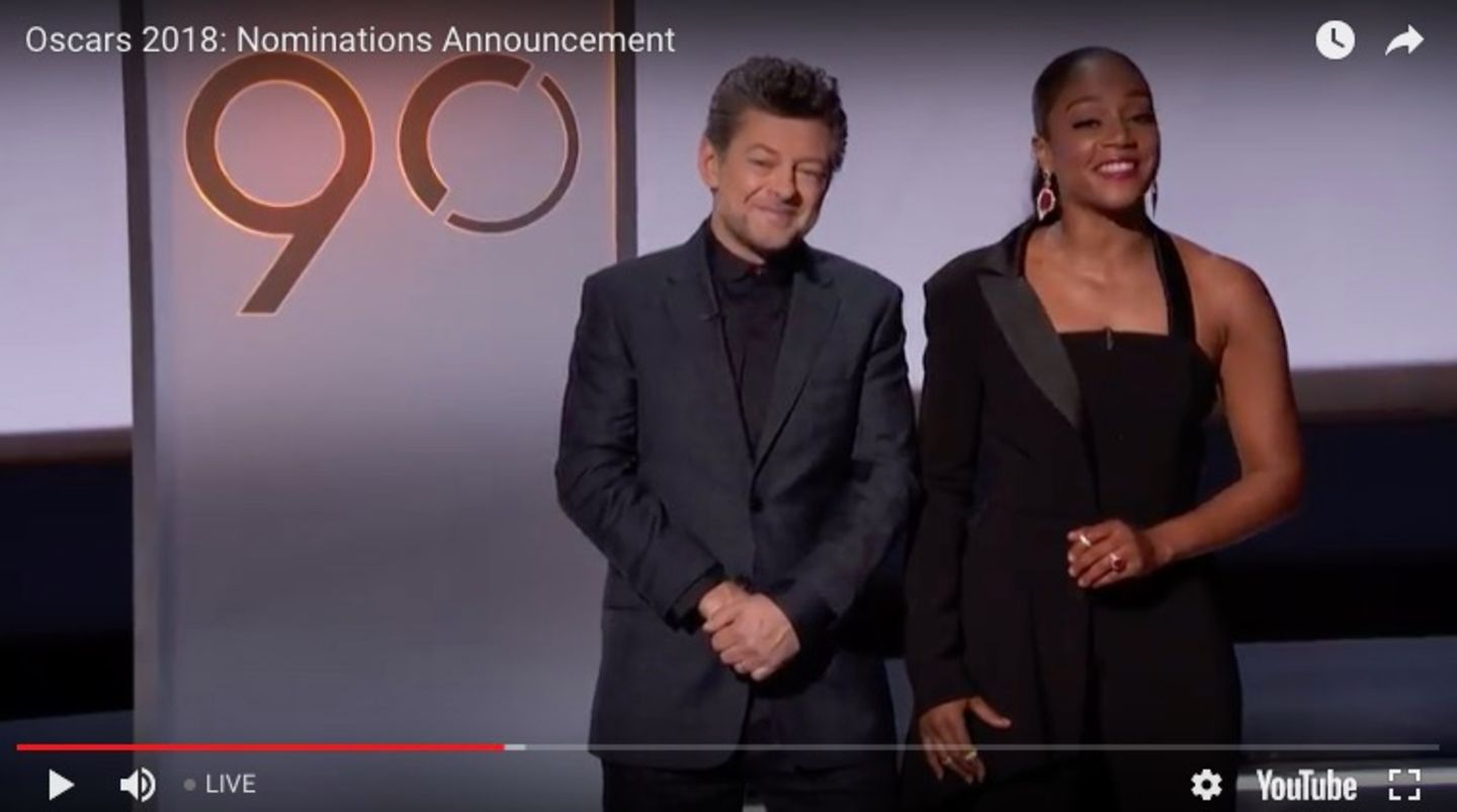 Andy Serkis und Tiffany Haddish