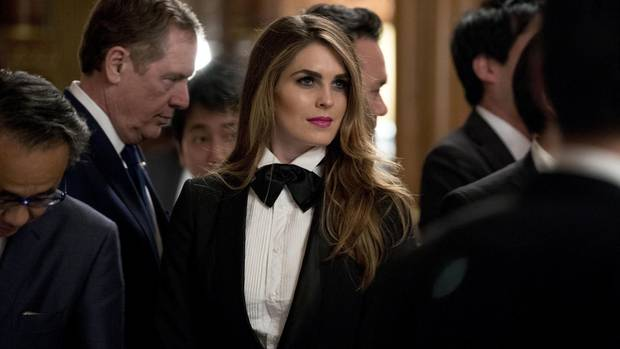 Hope Hicks Affäre mit Donald Trump