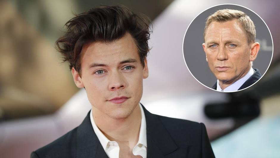 James Bond Wird Harry Styles Der Nächste 007 Sternde