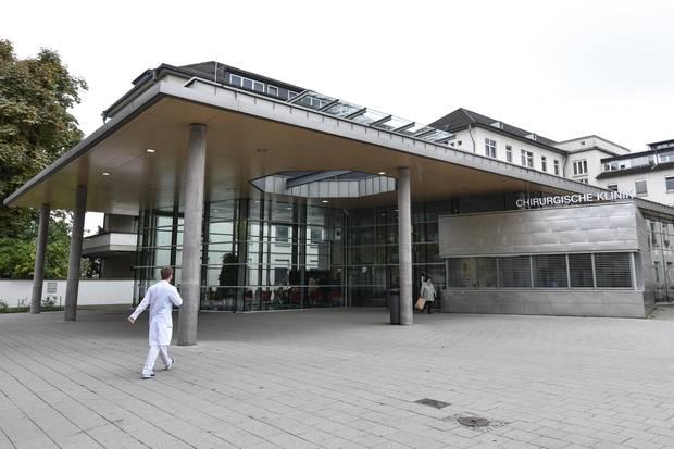 Die Klinik in Heidelberg, in der der 18-jährige Kim Rösener behandelt wurde