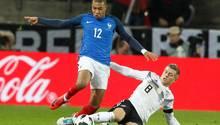 Toni Kroos attackiert Kylian Mbappé - zum Duell Deutschland Frankreich kommt es auch in der Nations League