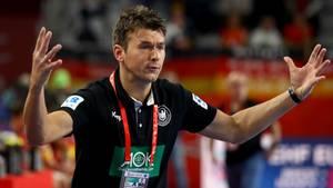 Handball-EM 2018: Bundestrainer Christian Prokop ist mit der deutschen Auswahl gescheitert
