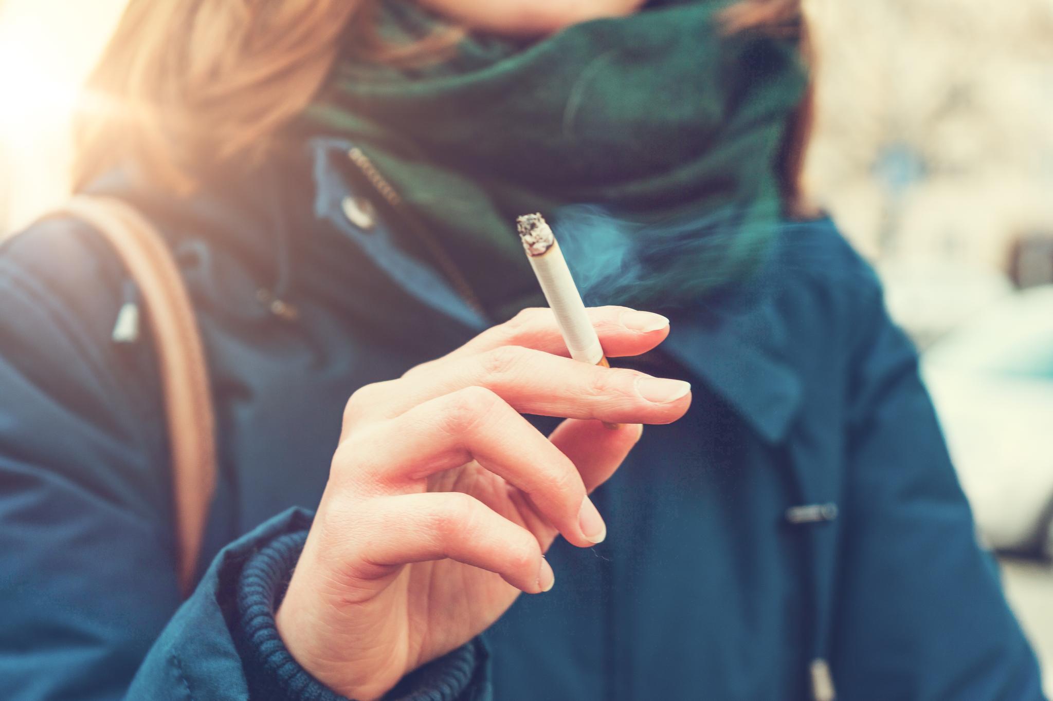 nach wie vielen zigaretten wird man süchtig