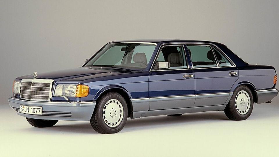 Mercedes 560 SEL Baureihe W 126 - bis zu 300 PS stark