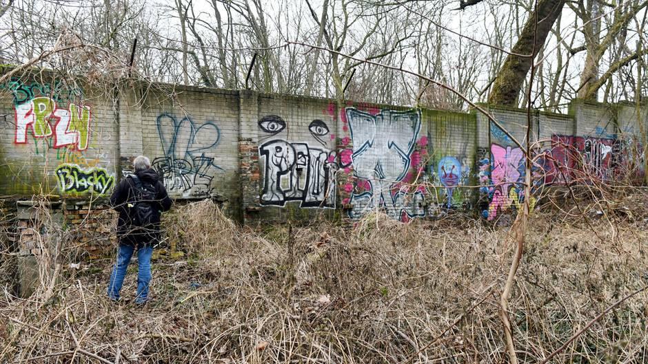 Sensationeller Fund: Heimatforscher hat anscheinend Abschnitt der Berliner Ur-Mauer entdeckt