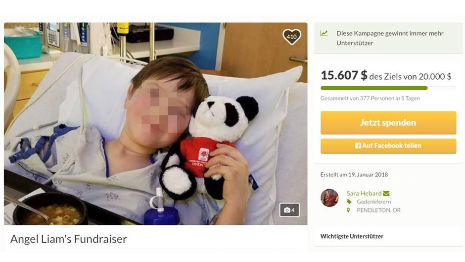 Nach Rad-Unfall: Liam Flanagan (8) stirbt durch Infektion mit fleischfressenden Bakterien