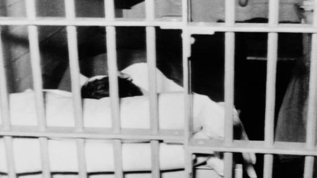 Zelle im Gefängnis Alcatraz