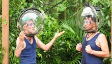 Daniele Negroni und Matthias Mangiapane im RTL-Dschungelcamp