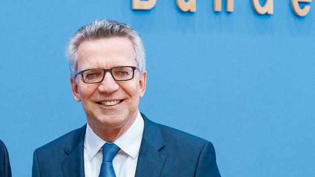 Thomas de Maizière, CDU-Politiker und Bundesinnenminister, geriet in der Flüchtlingskrise unter Druck