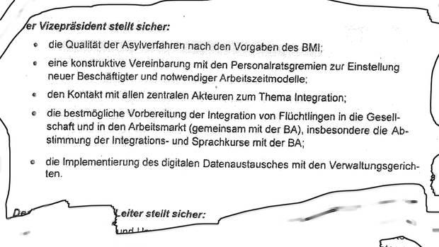 """Internes Dokument: Ex-BAMF-Chef Weise gibt dem Innenminister """"Leistungsversprechen"""", zum Beispiel das Vertrauen der Medien wiederherzustellen"""