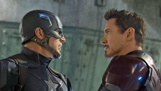 Captain America First Avenger Civil War Iron Man Marvel Netflix Februar 2017