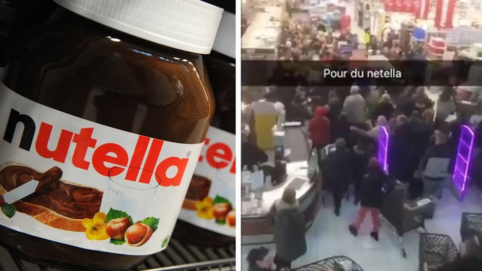 Raufereien im Supermarkt: Nutella-Rabatt sorgt in Frankreich für viel Wirbel