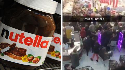 Frankreich: Nutella-Rabatt sorgt für Tumult: Raufereien und Verletzte in Supermarkt