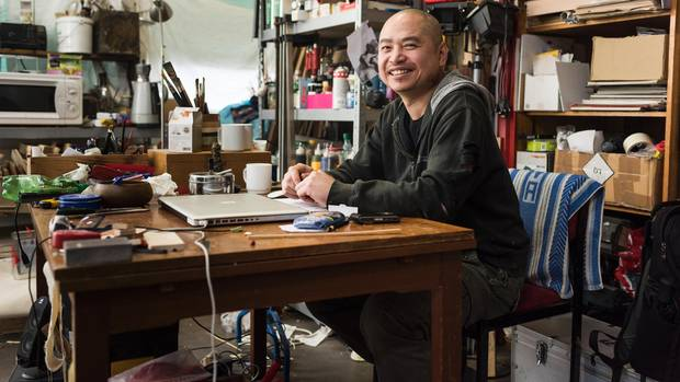 Nguyen Xuan Huy ist heute freischaffender Künstler