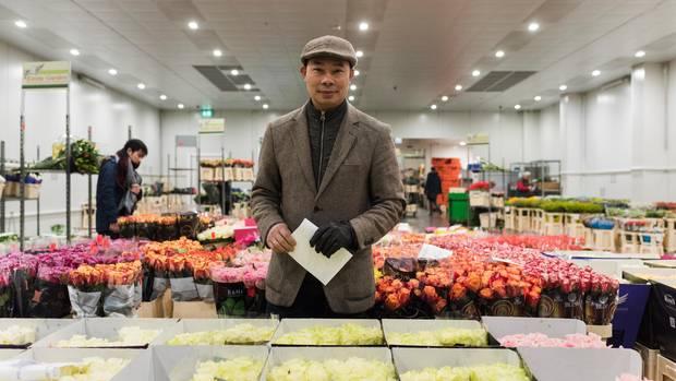 Hoa Bui Duc besitzt ein Haus und einen Blumenladen
