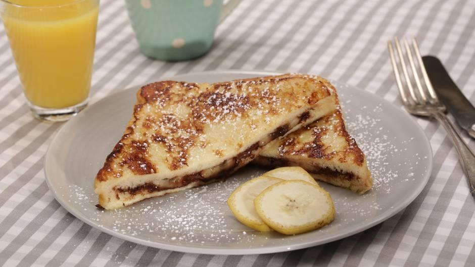 Armer Ritter: Mit diesem Toast starten Sie glücklich in den Tag