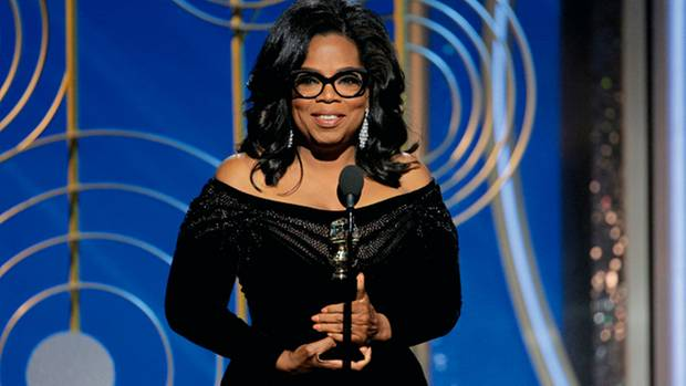 Die Verleihung der Golden Globes wurde am 7. Januar zu Oprah Winfreys großer Bühne
