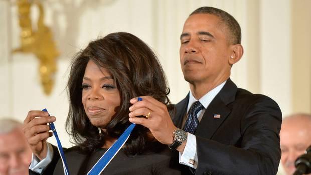 Barack Obama verlieh ihr 2013 die Freiheitsmedaille des Präsidenten