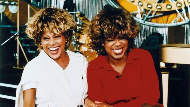 Oprah Winfrey feierte mit Tina Turner