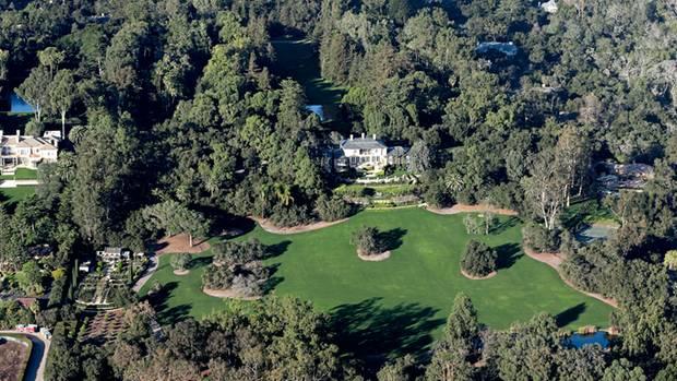 170.000 Quadratmeter groß ist das Anwesen im kalifornischen Montecito, unweit von Santa Barbara
