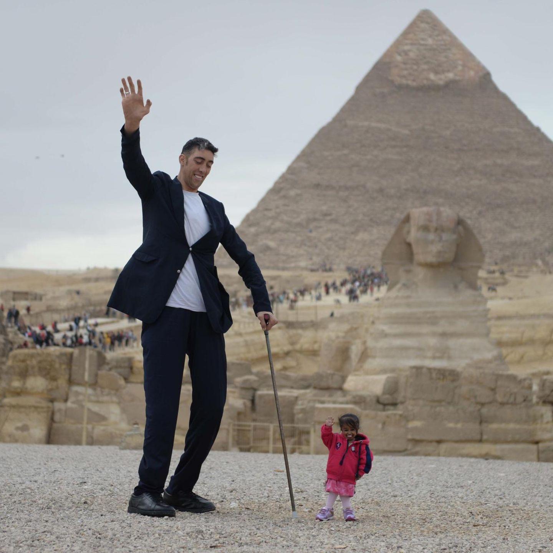 Frau welt dünnste der Ägypterin jahrelang