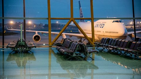 United Airlines Flughafen Airport