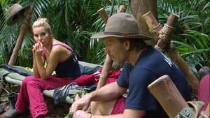 Dschungelcamp: Tatjana und Ansgar